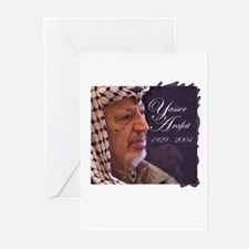 Yasser Arafat Greeting Cards (Pk of 10)