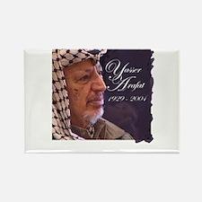 Yasser Arafat Rectangle Magnet