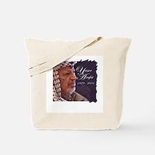 Yasser Arafat Tote Bag
