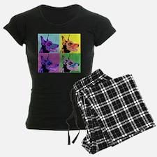 Doberman Pop Art Pajamas