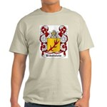 Biberstein Coat of Arms Ash Grey T-Shirt