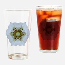 Orchid Kaleidoscope Drinking Glass