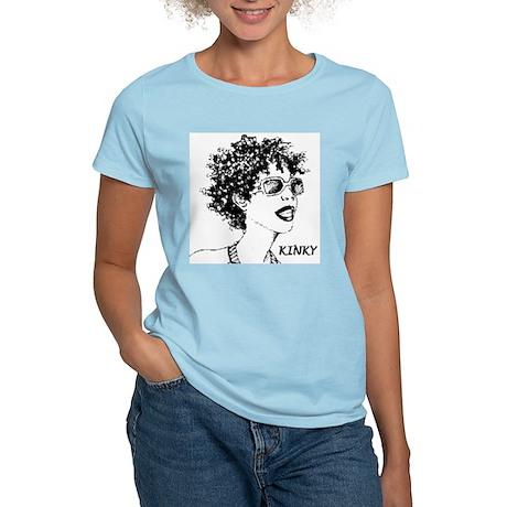 Kinky Women's Pink T-Shirt
