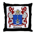 Bialynia Coat of Arms Throw Pillow