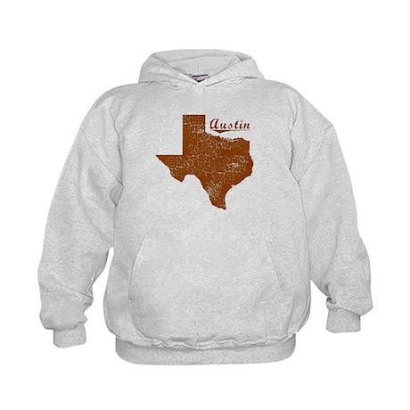 Austin, Texas (Search Any City!) Kids Hoodie