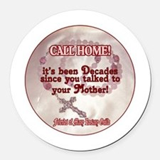 Funny Rosary Round Car Magnet