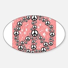 Paws for Peace Decal