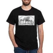Cute Bull grandma T-Shirt