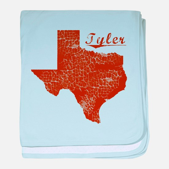 Tyler, Texas (Search Any City!) baby blanket