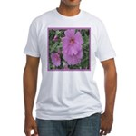 Fe's Pink Malva Fitted T-Shirt