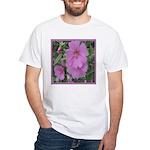Fe's Pink Malva White T-Shirt