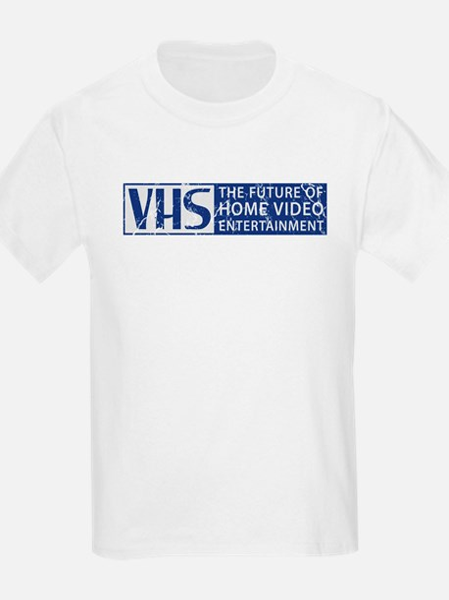 Retro VHS Fan Kids T-Shirt