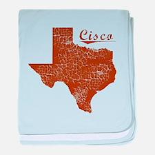 Cisco, Texas (Search Any City!) baby blanket
