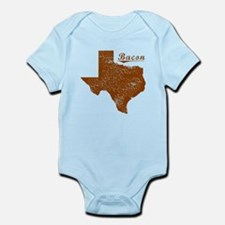 Bacon, Texas (Search Any City!) Infant Bodysuit