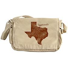 Thorntonville, Texas. Vintage Messenger Bag