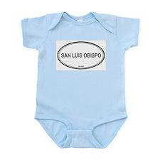 San Luis Obispo oval Infant Creeper