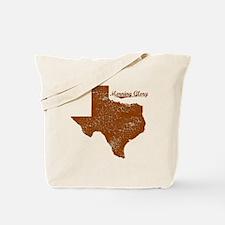 Morning Glory, Texas. Vintage Tote Bag