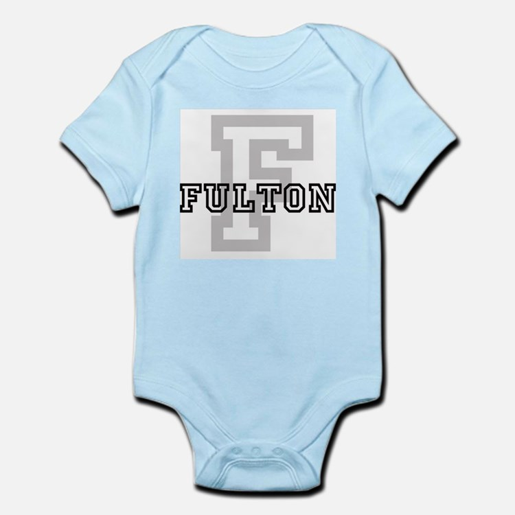 Fulton (Big Letter) Infant Creeper
