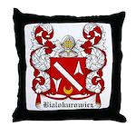 Bialokurowicz Coat of Arms Throw Pillow