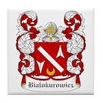 Bialokurowicz Coat of Arms Tile Coaster