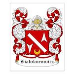 Bialokurowicz Coat of Arms Small Poster