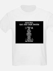 Asatru We Are Our Deeds T-Shirt