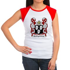 Bialoglowzki Coat of Arms Women's Cap Sleeve T-Shi