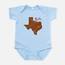 Bebe, Texas (Search Any City!) Infant Bodysuit