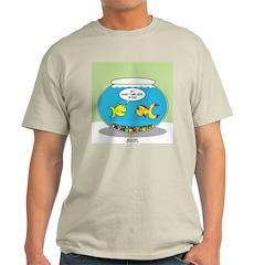 Fishbowl Pickup Lines Cartoon T-Shirt