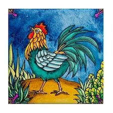 Rooster 2 Tile Coaster
