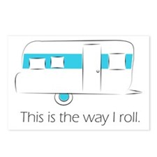 way I roll Postcards (Package of 8)