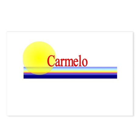 Carmelo Postcards (Package of 8)