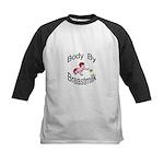 Body By Breastmilk Kids Baseball Jersey