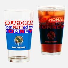 oklahomaromneyflag.png Drinking Glass
