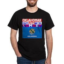 oklahomaromneyflag.png T-Shirt