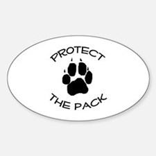Protect the Pack! Decal