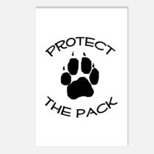 Protect the Pack! Postcards (Package of 8)