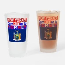 newyorkromneyflag.png Drinking Glass