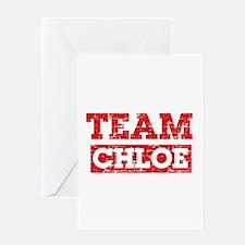 Team Chloe Greeting Card