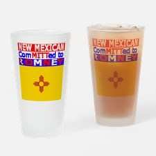newmexicoromneyflag.png Drinking Glass