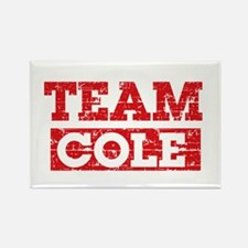 Team Cole Rectangle Magnet