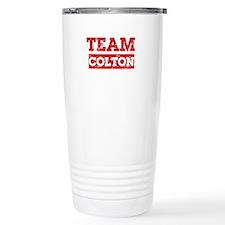 Team Colton Travel Mug