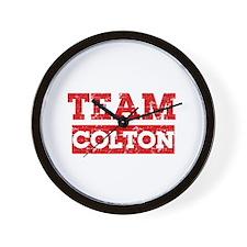 Team Colton Wall Clock