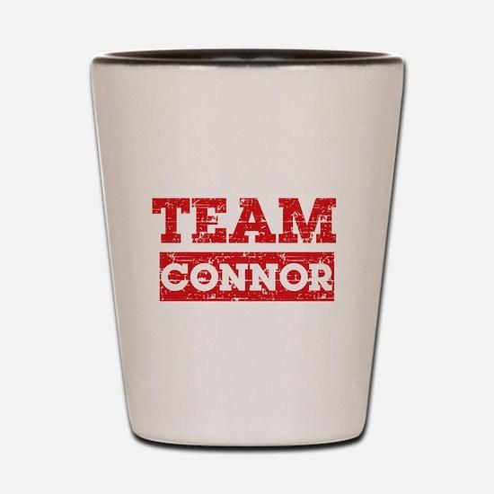 Team Connor Shot Glass