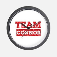 Team Connor Wall Clock