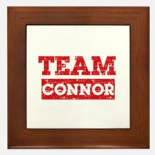 Team Connor Framed Tile
