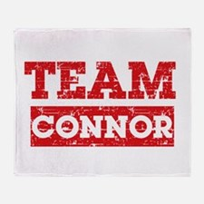 Team Connor Throw Blanket