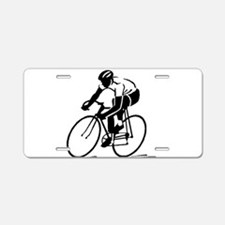 Bike Rights 4 Aluminum License Plate