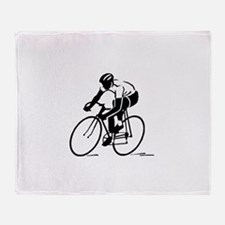 Bike Rights 4 Throw Blanket