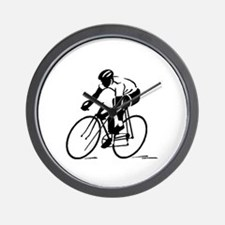 Bike Rights 4 Wall Clock